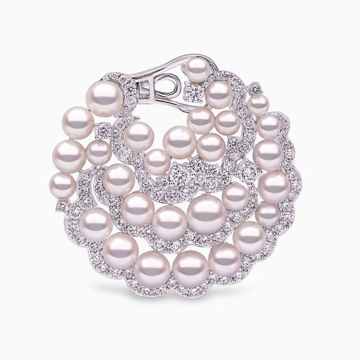 0002579 raindrop akoya pearl and diamond earrings in 18ct white gold 01