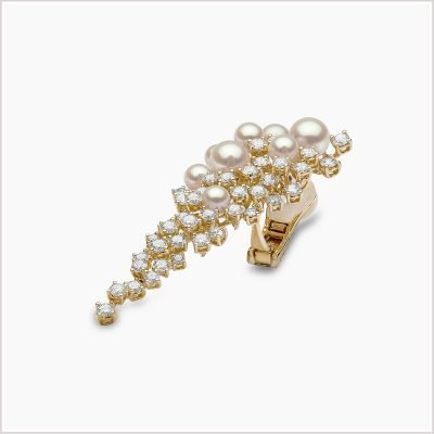 """<span id=""""product-title"""">RAINDROP </span><br><span id=""""product-description"""">AKOYA PEARL AND DIAMOND EARRINGS IN 18CT YELLOW GOLD</span>"""