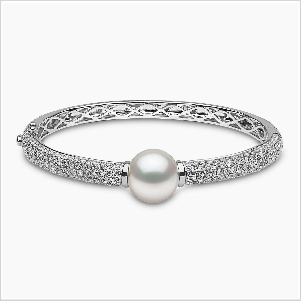 Mayfair South Sea Pearl and Diamond Bracelet
