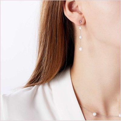 Yoko London Classic Freshwater Pearl Earrings
