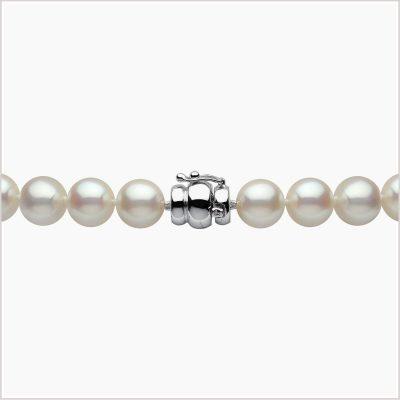 Yoko London Tassel Diamond, Sapphire & Freshwater Pearl Necklace