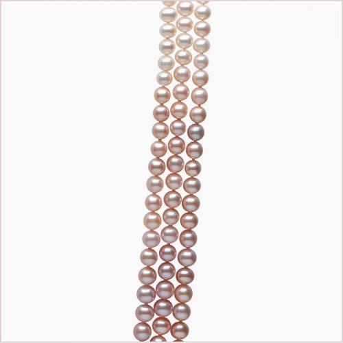 Yoko London Ombré Freshwater Pearl Necklace