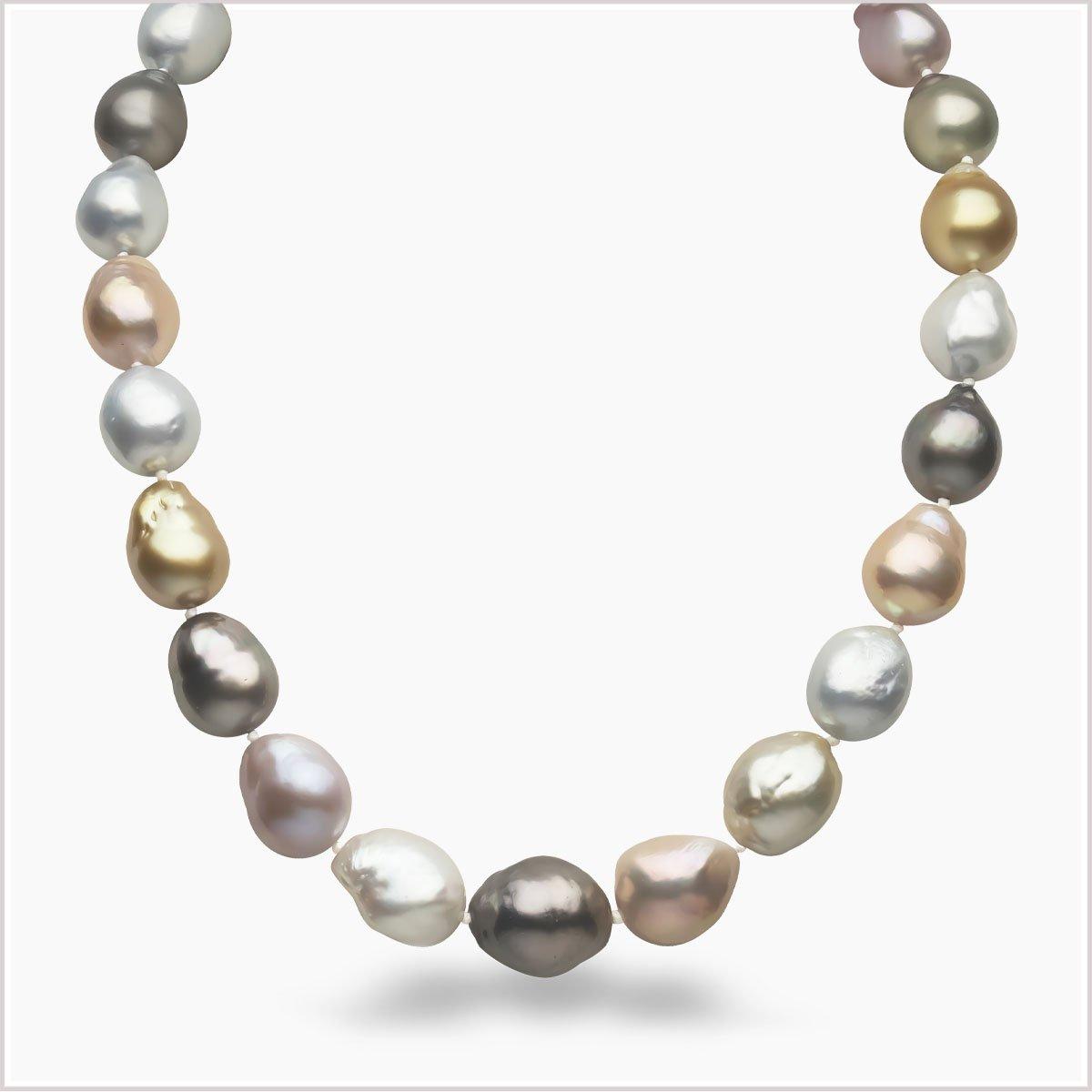 Yoko London Baroque Pearl Necklace
