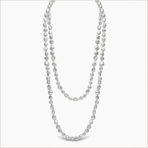 Yoko London Baroque Freshwater Pearl Necklace