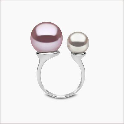 Yoko London Novus South Sea and Freshwater Pearl Ring
